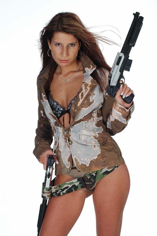 Fotoshooting Militaer-Look